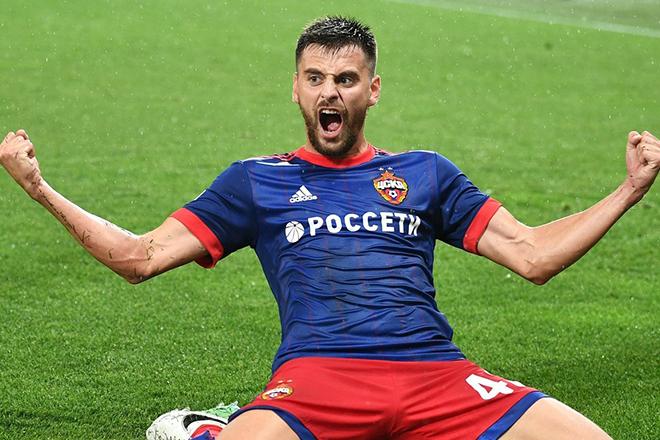 Георгий Щенников в клубе ЦСКА