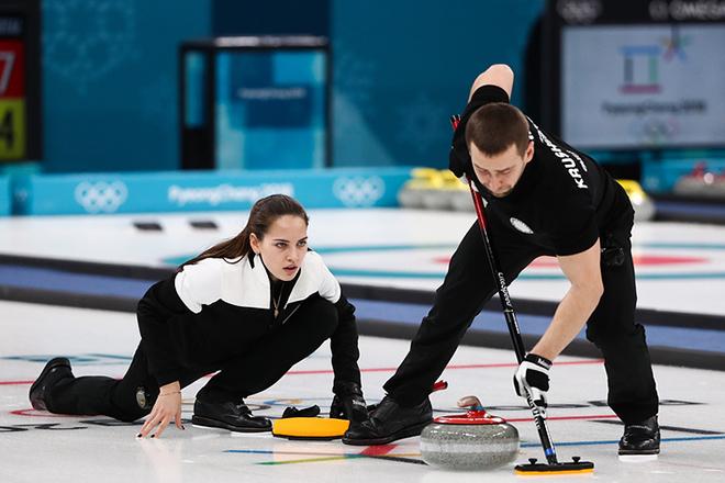 Анастасия Брызгалова и Александр Крушельницкий на Олимпиаде-2018