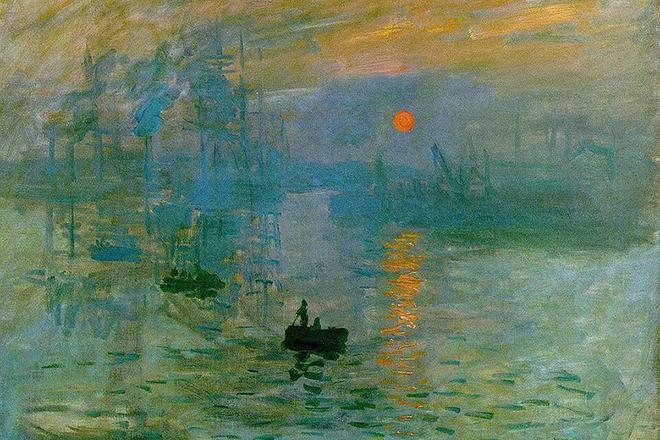 Картина Клода Моне «Впечатление. Восход солнца»