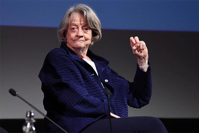 Мэгги Смит в 2017 году
