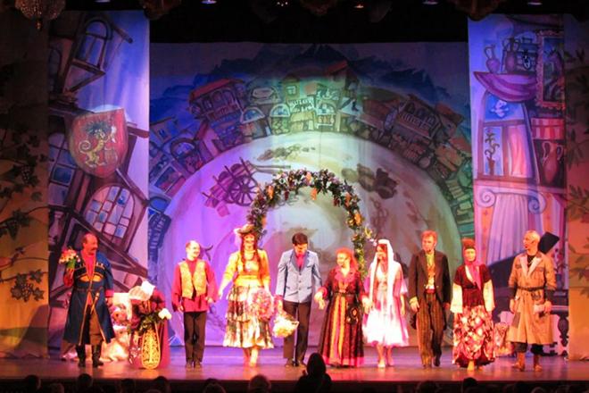 Спектакль в театре Георгия Данелия