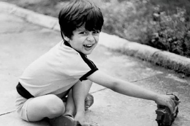 Шахид Капур в детстве