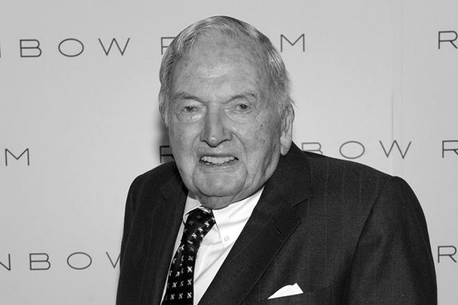 Дэвид Рокфеллер умер 20 марта 2017 года