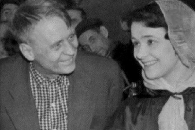 Иван Пырьев и Людмила Марченко