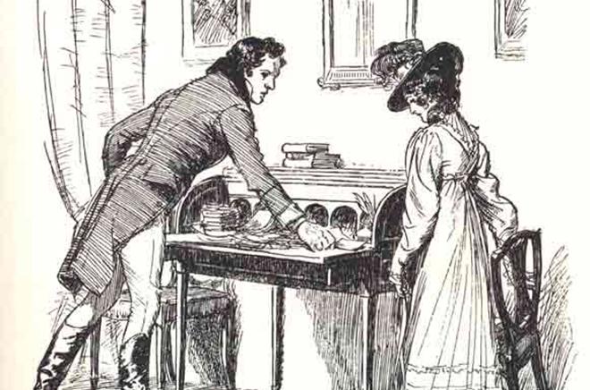 Иллюстрация к книге Джейн Остин «Доводы рассудка»