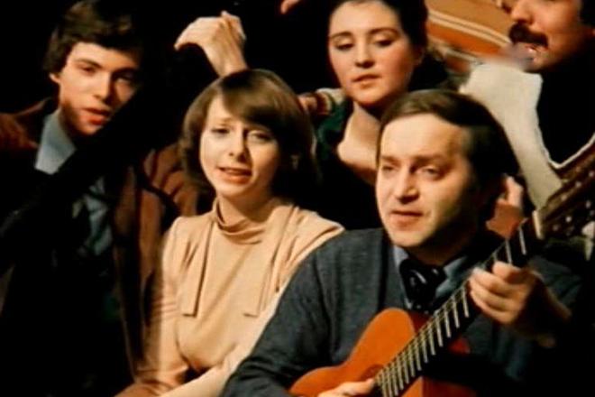 Сергей и Татьяна Никитина в молодости