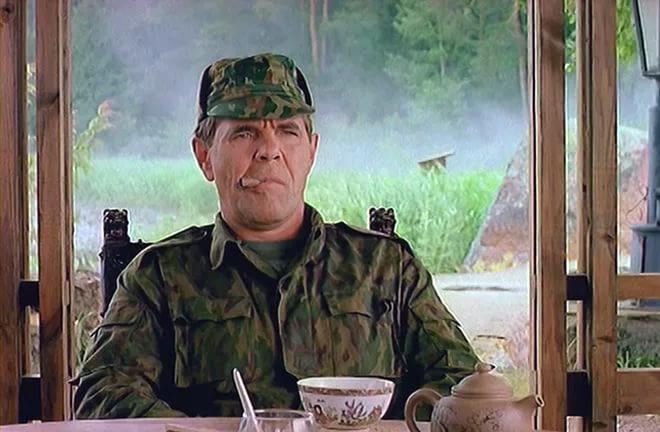 Алексей Булдаков в роли генерала Иволгина