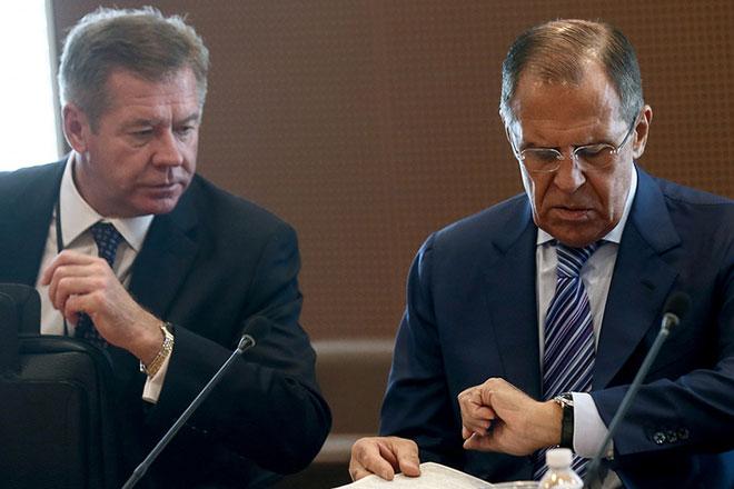 Геннадий Гатилов и Сергей Лавров