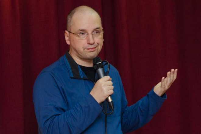 Ник Перумов на встрече с читателями