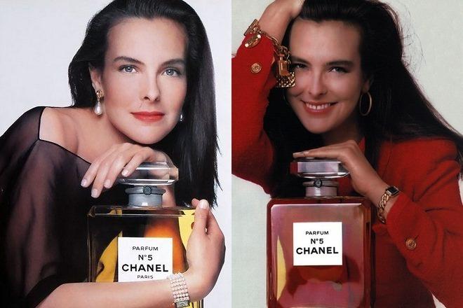 Кароль Буке в рекламе парфюма Шанель №5