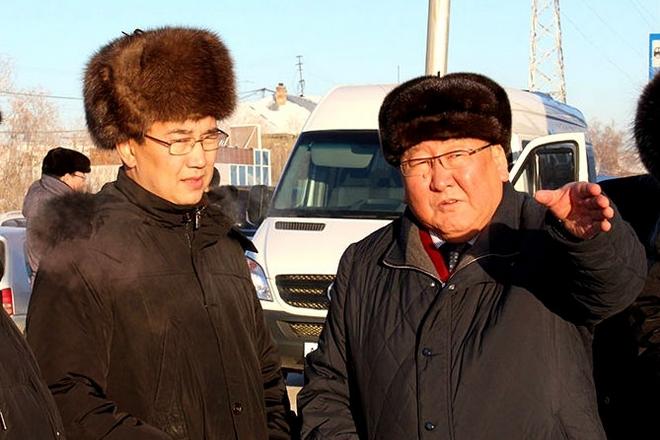 Айсен Николаев и Егор Борисов