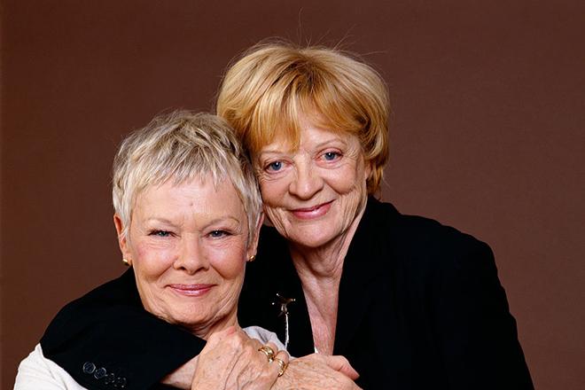Мэгги Смит и Джуди Денч
