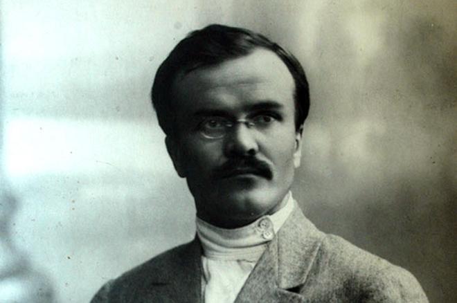 Вячеслав Молотов в молодости