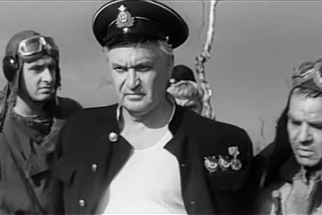 Николай Гриценко в фильме «Места тут тихие»