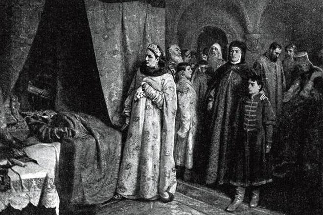 Смерть Федора Алексеевича