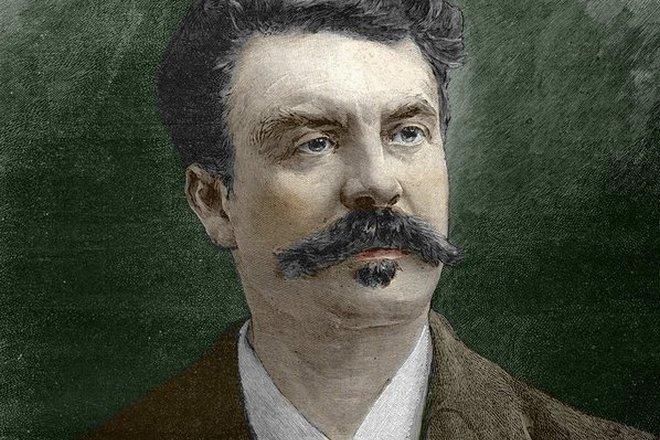 Портрет Ги де Мопассана
