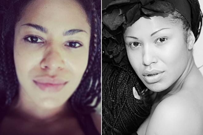 Гайтана без макияжа