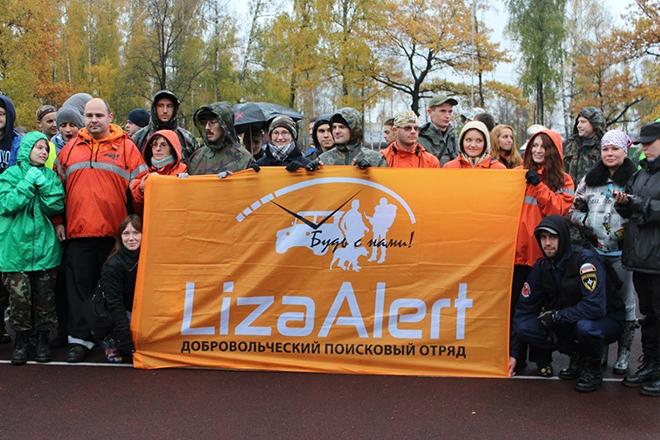 Добровольческая организация «Лиза Алерт»