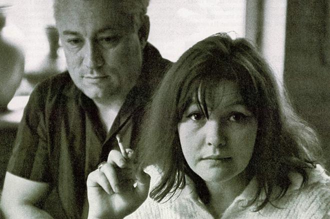 Юрий Нагибин и его пятая жена Белла Ахмадулина