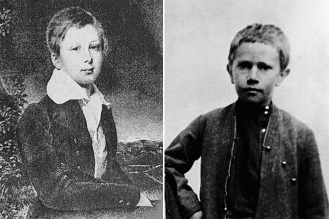 Алексей Толстой в детстве