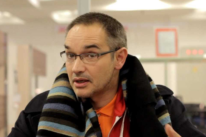 Журналист Антон Носик
