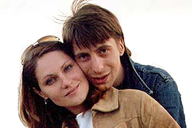 Михаил Зеленский с женой Ольгой