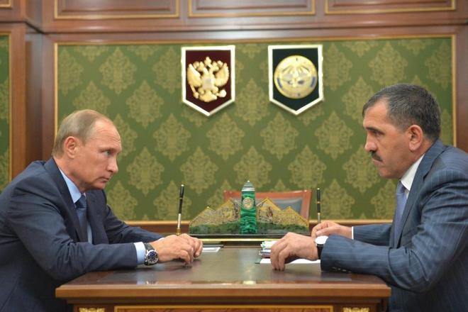 Юнус-бек Евкуров и Владимир Путин