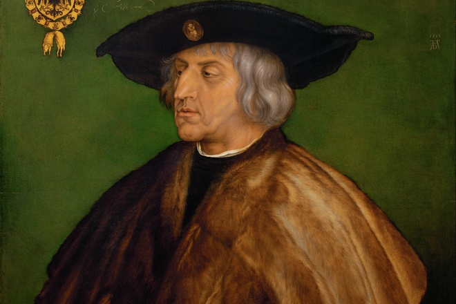Картина Альбрехта Дюрера «Портрет Максимиллиана I»