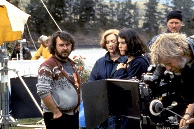 Питер Джексон на съемочной площадке