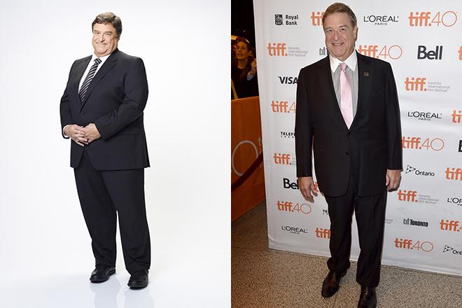 Джон Гудман до и после похудения