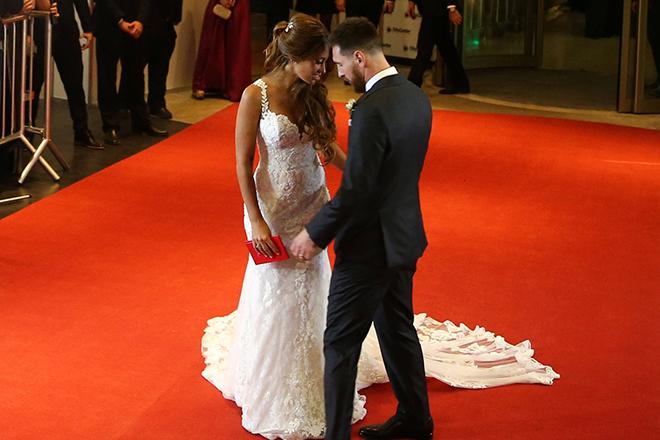 Свадьба Лионеля Месси и Антонеллы Рокуццо
