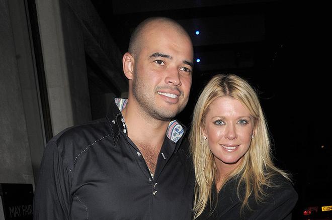 Тара Рид с мужем