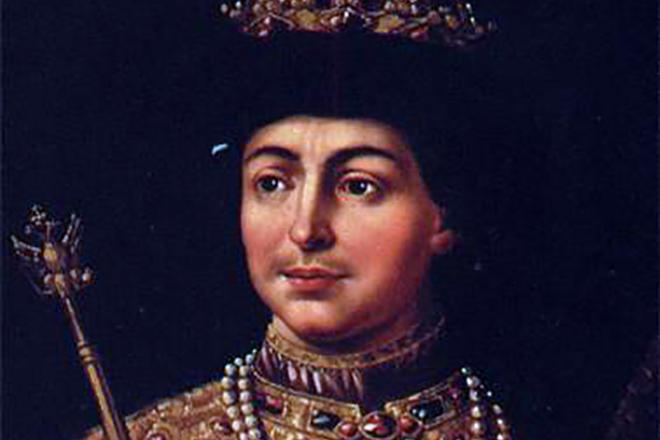 Федор Алексеевич в юности