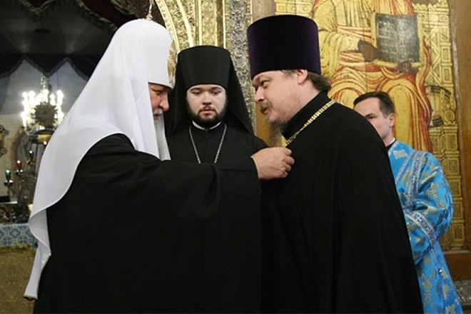Всеволод Чаплин и патриарх Кирилл
