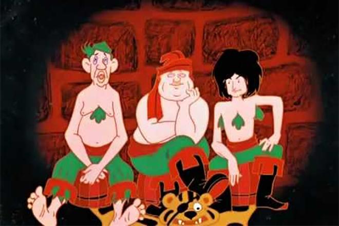 Легендарное трио в мультфильме