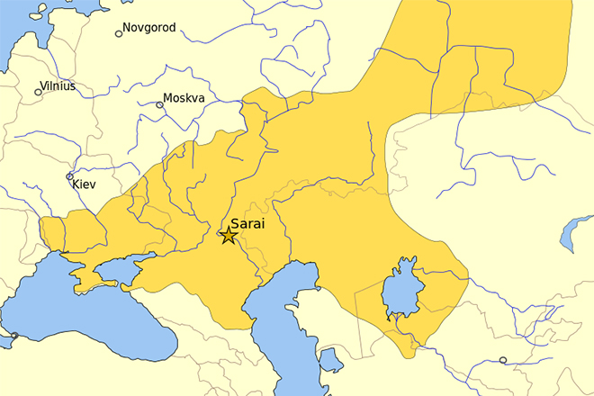 Золотая Орда в 1389 году