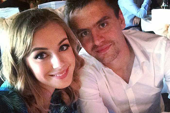Георгий Щенников и его жена Диана