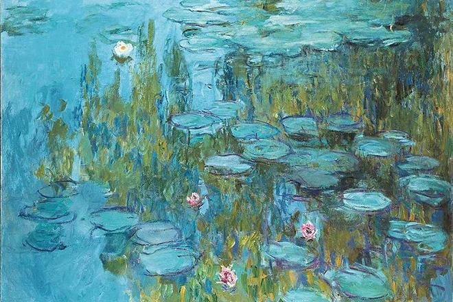 Картина Клода Моне «Пруд с водяными лилиями»