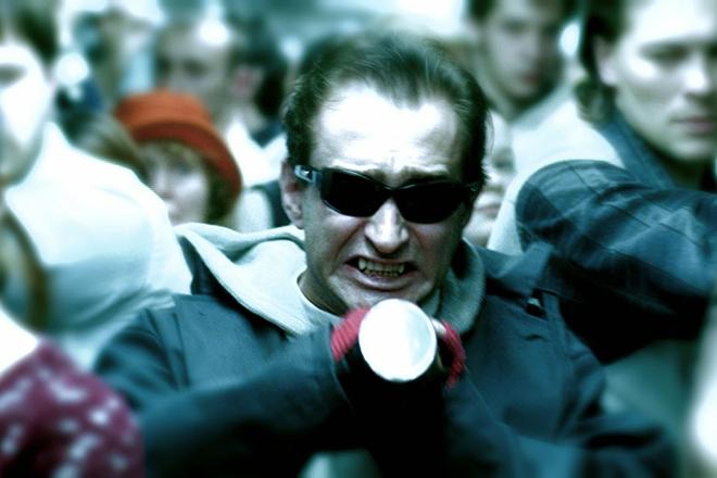 Кадр из фильма по книге Сергея Лукьяненко «Ночной Дозор»