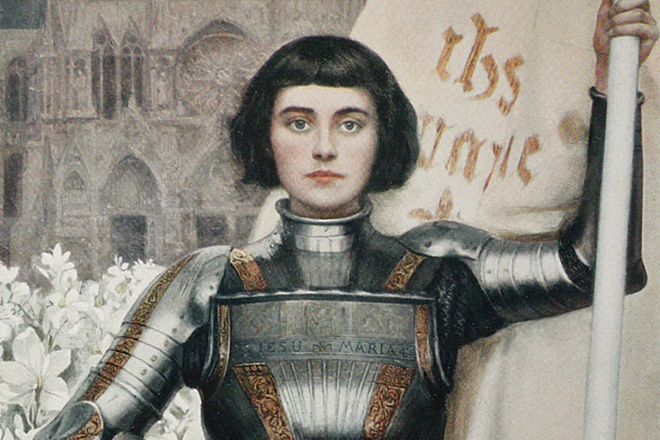 Орлеанская дева Жанна Д'арк