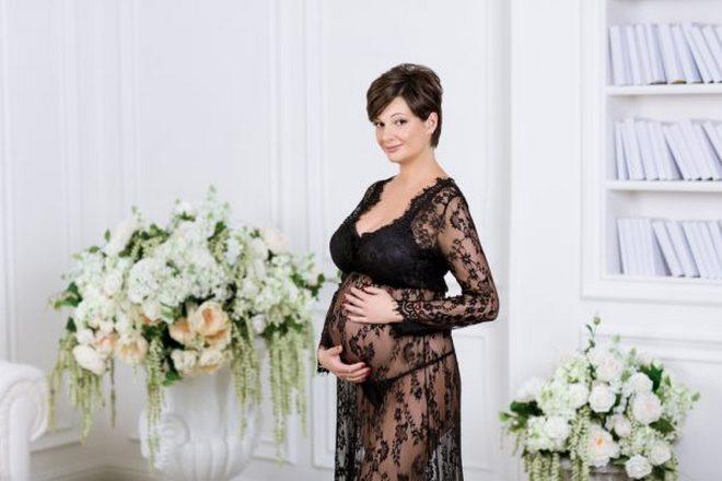 Беременная Виктория Талышинская