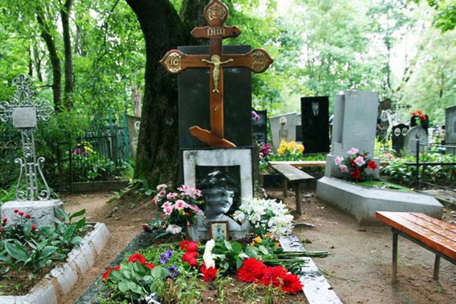 Могила Ольги Воронец