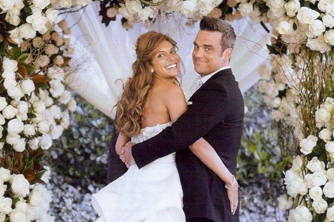 свадьба робби уильямса фото это