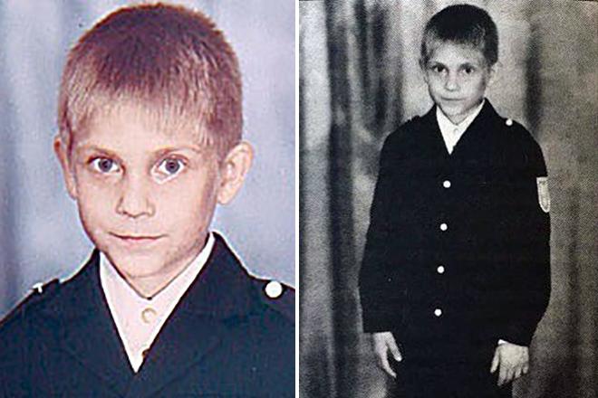 Виталий Петров в детстве