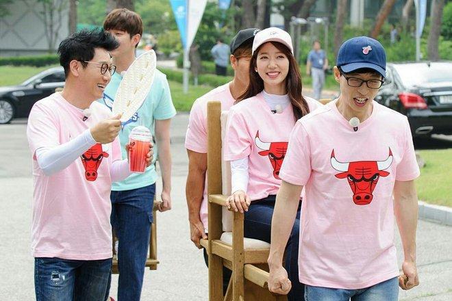 Ли Сон Ген в шоу «Бегущий человек»
