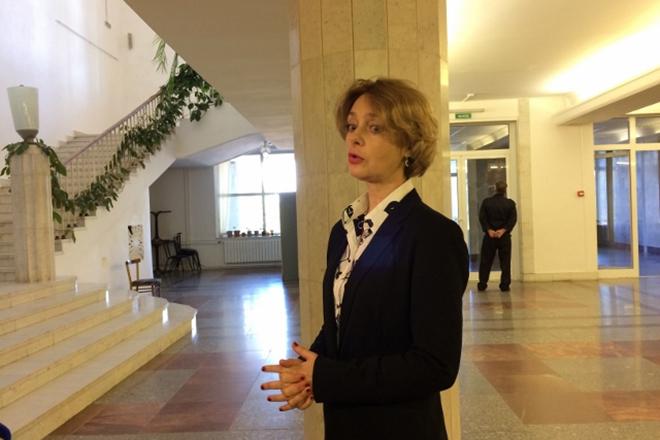 Анна Дубровская в 2017 году