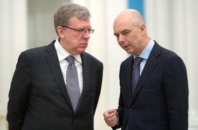 Алексец Кудрин и Антон Силуанов
