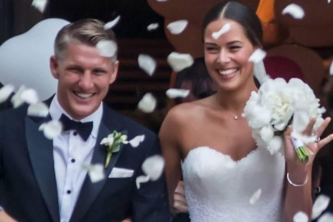 Свадьба Бастиана Швайнштайгера и Аны Иванович