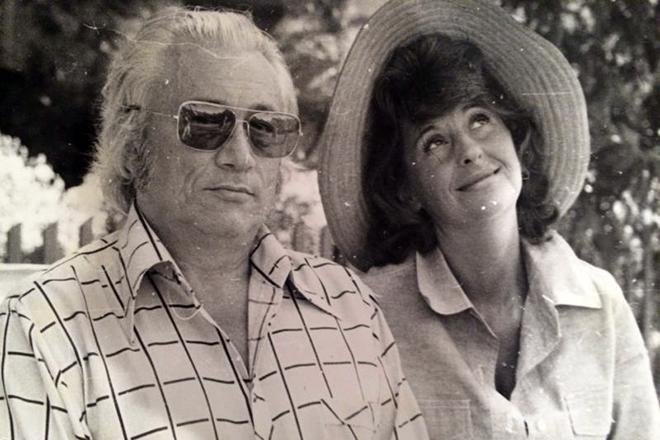 Юрий Нагибин и его шестая жена Алла