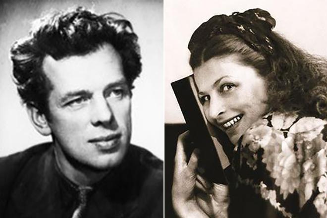 Георгий Жженов и Ирина Махаева